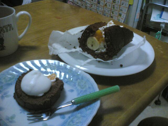 いきなり作る ロールケーキ